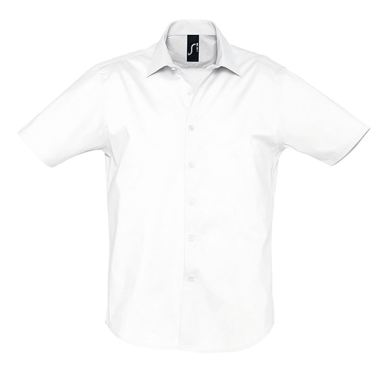 Рубашка мужская BROADWAY 140, Белый, L, 717030.102 L