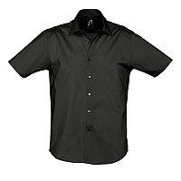 Рубашка мужская BROADWAY 140, Черный, L, 717030.312 L