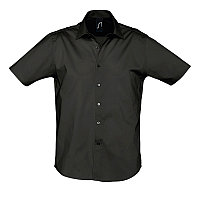 Рубашка мужская BROADWAY 140, Черный, XL, 717030.312 XL