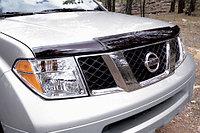 Мухобойка\дефлектор капота на Nissan Pathfainder/Ниссан Патфаиндер 2004-2010, фото 1