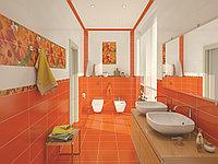 Кафель оранжевая серия