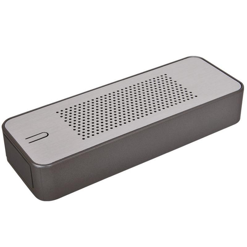 """Универсальное зарядное устройство c bluetooth-стереосистемой """"Music box"""" (4400мАh), серый, , 15514"""