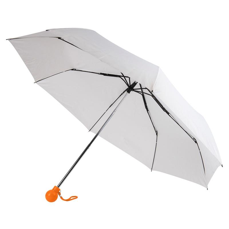 Зонт складной FANTASIA, механический, Белый, -, 7434 05