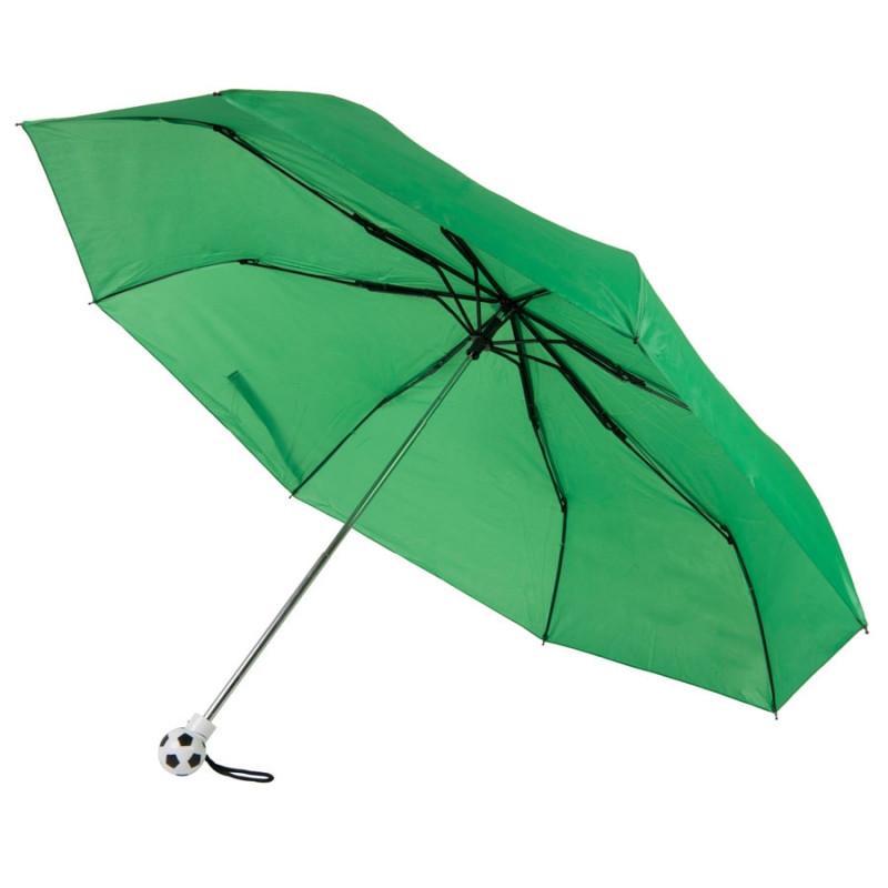 Зонт складной FOOTBALL, механический, Зеленый, -, 7433 15