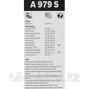 BOSCH Комплект стеклоочистителей Aerotwin 600/475mm (A 979 S)  VW Yeti/Golf/Passat 03>, фото 2