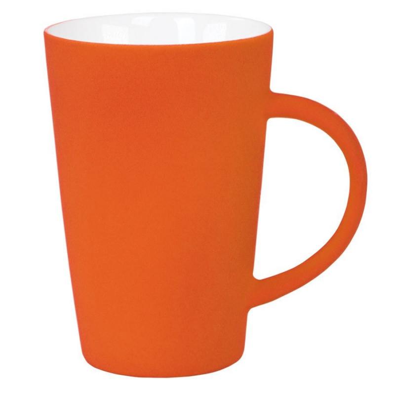 """Кружка """"Tioman"""" с прорезиненным покрытием, Оранжевый, -, 23501 06"""