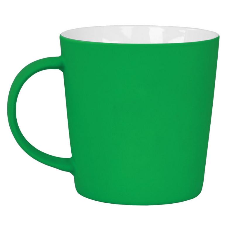 """Кружка """"Bali"""" с прорезиненным покрытием, Зеленый, -, 23502 15"""