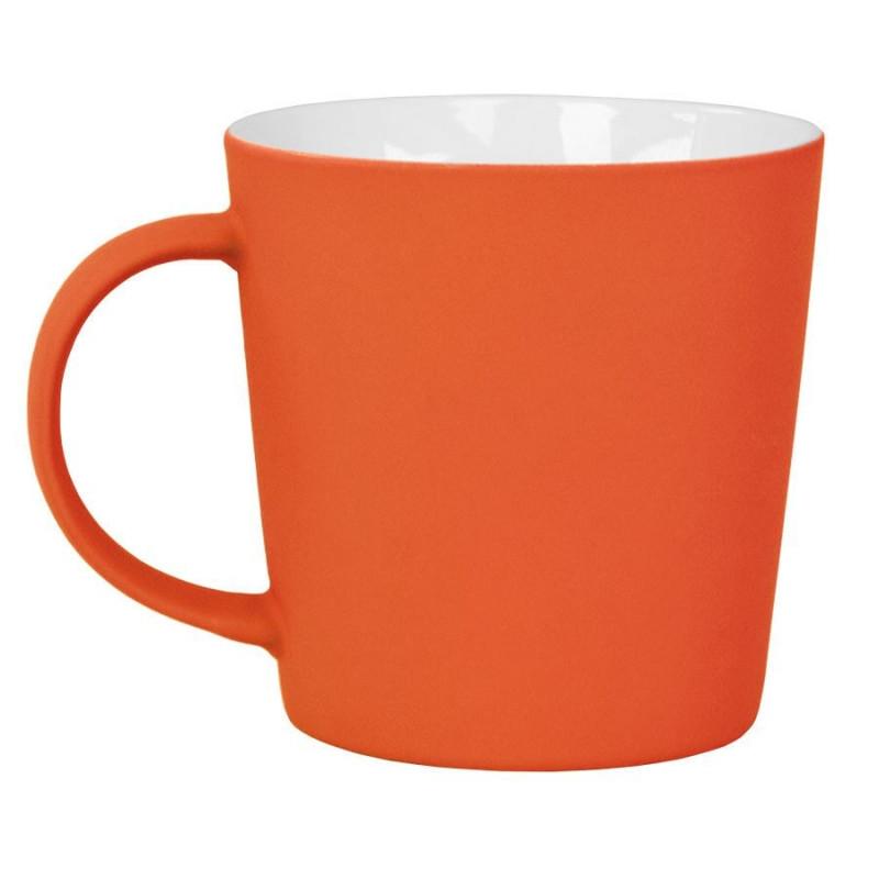 """Кружка """"Bali"""" с прорезиненным покрытием, Оранжевый, -, 23502 06"""