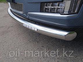 Защита переднего бампера, круглая для Cadillac Escalade ( 2015-), фото 2
