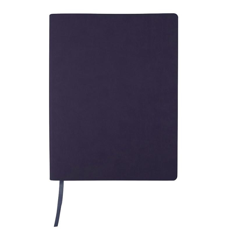 Бизнес-блокнот BIGGY, формат B5, в клетку, Темно-синий, -, 21218 26 30