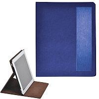 """Чехол-подставка под iPAD """"Смарт"""",  синий,  19,5x24 см,  термопластик, тиснение, гравировка , Синий, -, 18025"""