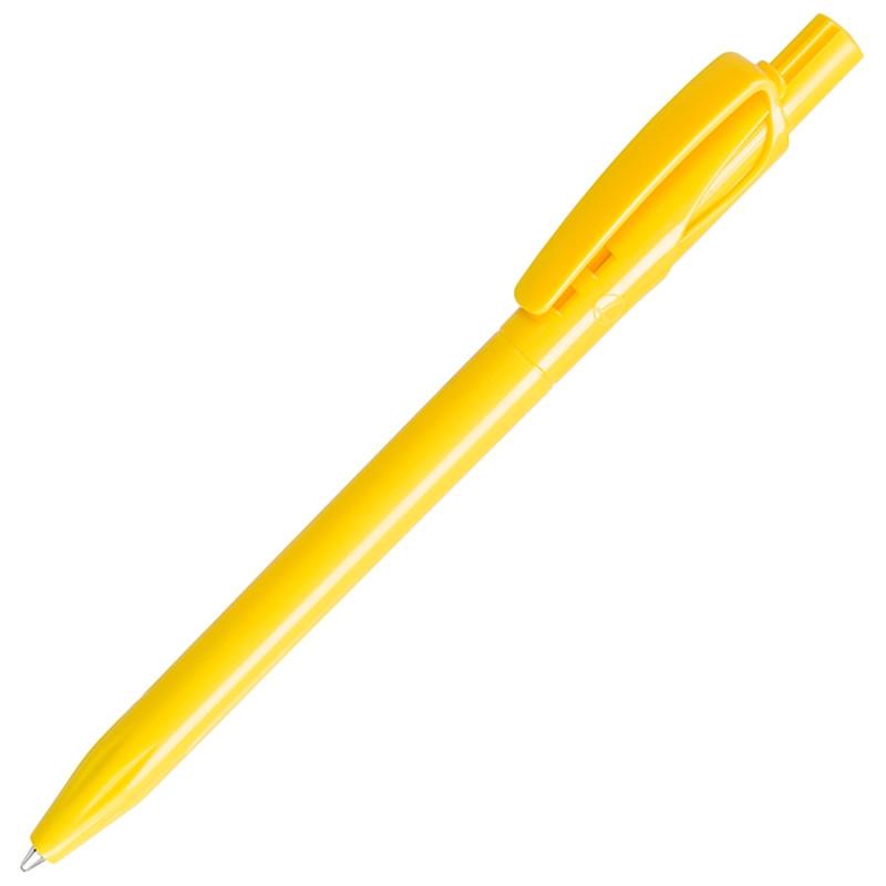 Ручка шариковая TWIN SOLID, Желтый, -, 161 120
