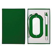 Набор SEASHELL-2: универсальное зарядное устройство (6000 mAh) и ручка в подарочной коробке, Белый, -, 25303