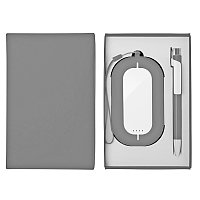Набор SEASHELL-2: универсальное зарядное устройство (6000 mAh) и ручка в подарочной коробке, Белый, -, 25303, фото 1