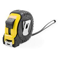 Рулетка GRADE с металлическим клипом 5 м., желтая, пластик, Черный, -, 344643 03