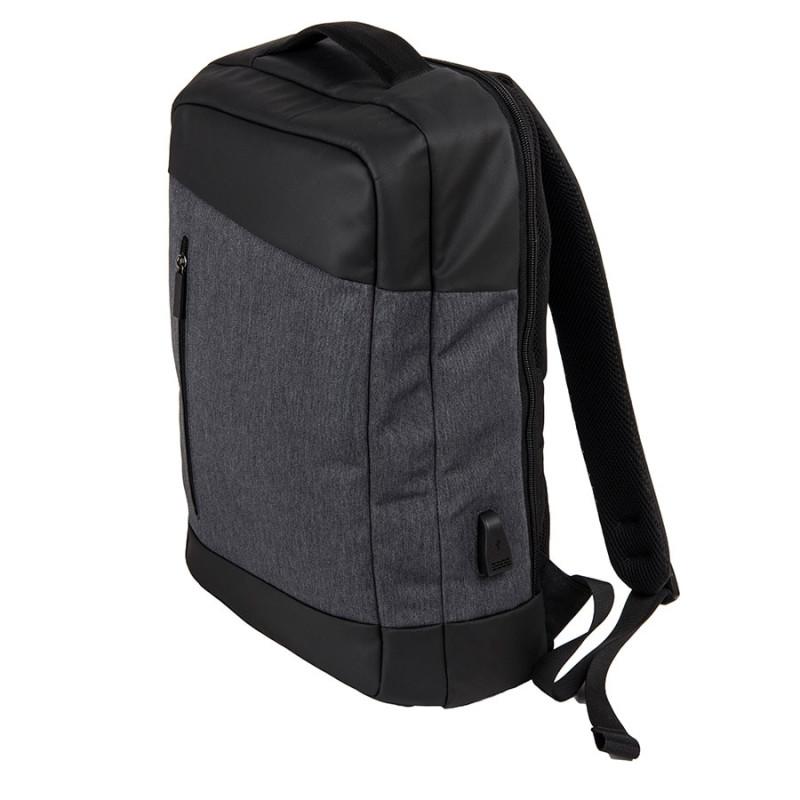 Рюкзак-сумка HEMMING c RFID защитой, Серый, -, 986131 30