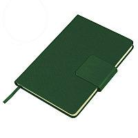 Ежедневник недатированный Stevie, А5,  зеленый, кремовый блок, без обреза, Зеленый, -, 24706 15