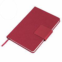 Ежедневник недатированный Stevie, А5,  красный, кремовый блок, без обреза, Красный, -, 24706 08