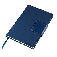 Ежедневник недатированный Stevie, А5, синий, кремовый блок, без обреза, Синий, -, 24706 25
