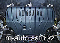 Защита картера двигателя и кпп на Nissan X-TRAIL/Ниссан Х-Трейл 2014-, фото 1
