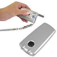 Подсветка для мобильного телефона на липучке, серебристый, , 7421