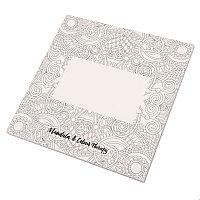 Альбом с раскрасками RUDEX (48 листов), белый, , 345564