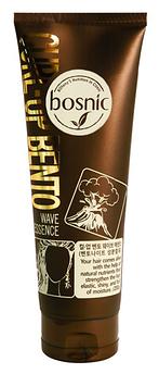 Увлажняющая эссенция для волос с бентонитом Bosnic Curl-Up Bento Wave Essence