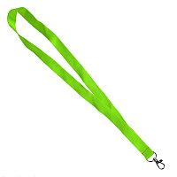 Ланьярд NECK, светло-зеленый, полиэстер, 2х50 см , Зеленый, -, 348780 16
