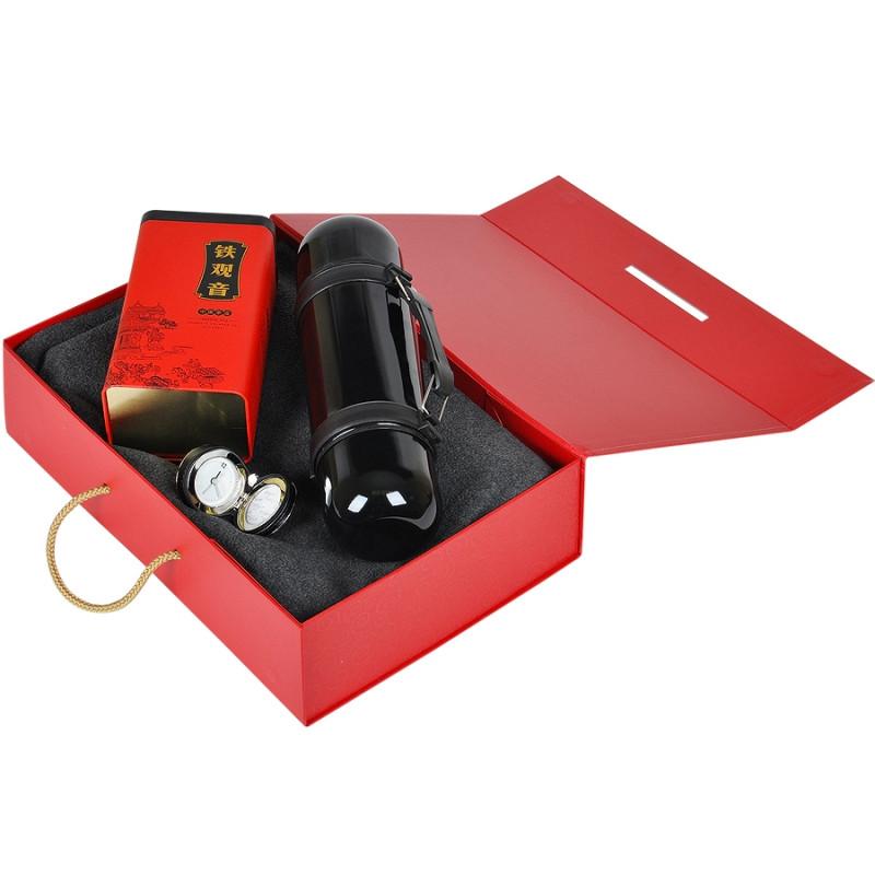 Упаковка подарочная , коробка складная , Красный, -, 20400 08 - фото 5