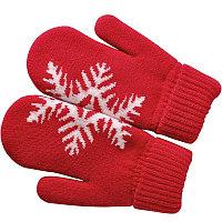 """Варежки """"Сложи снежинку!"""" с теплой подкладкой, Красный, -, 20604 08"""
