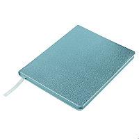 ЕЕжедневник недатированный Arti, B6+, голубой металлик, блок в клетку, голубой обрез, Голубой, -, 24711 21