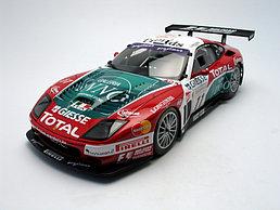 1/18 Kyosho Коллекционная модель Ferrari 575 GTC Team G.P.C Spa-Francorchamps 2004