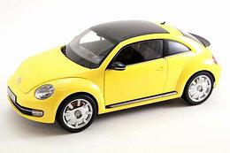 1/18 Kyosho Коллекционная модель Volkswagen Beetle Coupe, желтый