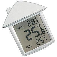 """Термометр на присоске  """"Дом"""", серебристый, , 343830"""