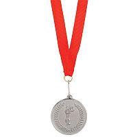"""Медаль наградная на ленте  """"Серебро"""", Серебристый, -, 343743 47"""