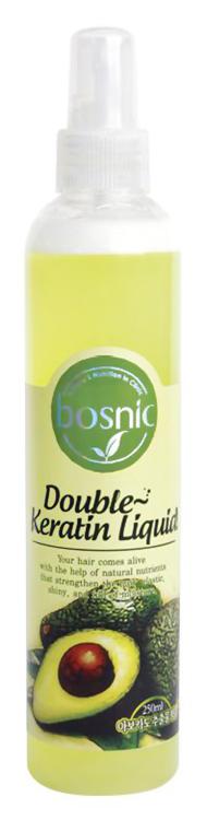 Увлажняющий мист для волос с кератином Bosnic Double Keratin Liquid