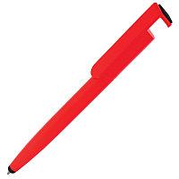 Ручка шариковая N3 со стилусом и подставкой для смартфона, Красный, -, 22802 08, фото 1