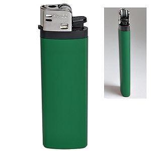 Зажигалка кремниевая ISKRA, Зеленый, -, 14908 15