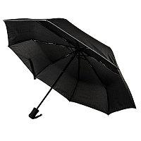 Зонт складной LONDON , автомат, черный, , 7440