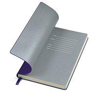 """Бизнес-блокнот """"Funky"""" А5, фиолетовый с  серым форзацем, мягкая обложка, в линейку, Фиолетовый, -, 21209 11 30, фото 1"""