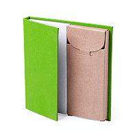 Набор LUMAR: листы для записи (60шт) и цветные карандаши (6шт), Зеленый, -, 345997 15
