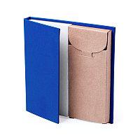 Набор LUMAR: листы для записи (60шт) и цветные карандаши (6шт), Синий, -, 345997 24