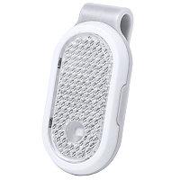 Светоотражатель с фонариком на клипсе HESPAR, Белый, -, 345680 01