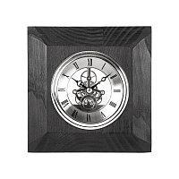 "Часы настольные ""Skeleton"" , черный, , 13148"