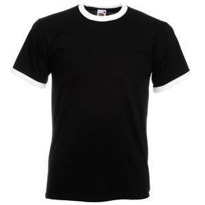 Футболка мужская RINGER T 165, Черный, S, 611680.KW S