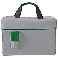 Конференц-сумка SENSE с карманом , Зеленый, -, 8434 18