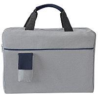 Конференц-сумка SENSE с карманом , Синий, -, 8434 24