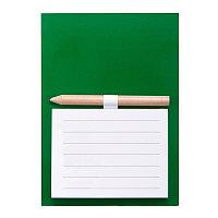Блокнот с магнитом YAKARI, 40 листов, карандаш в комплекте, зеленый, картон, Зеленый, -, 344582 15