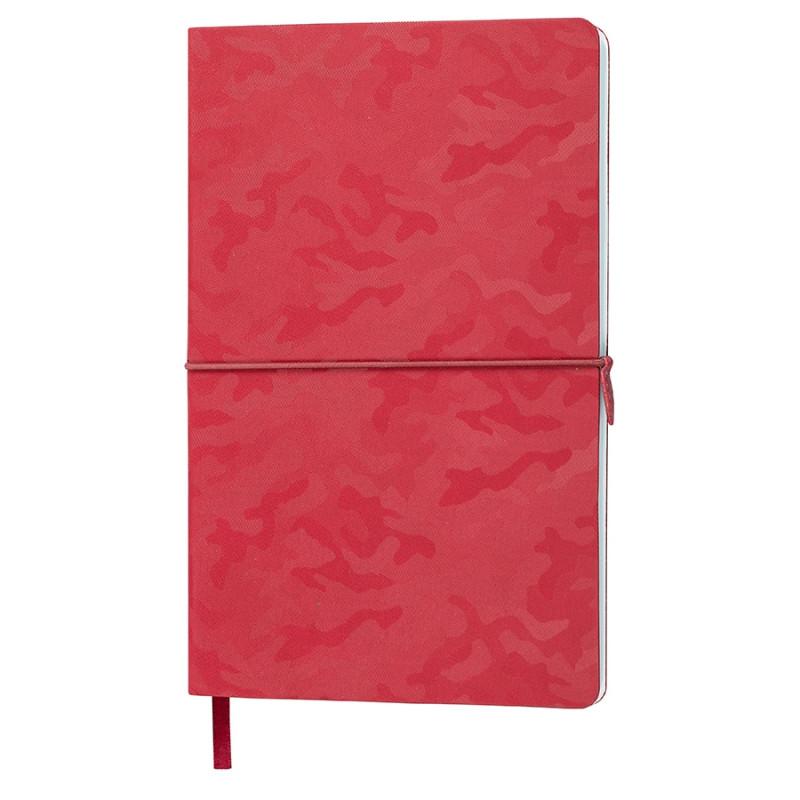 Бизнес-блокнот Tabby Franky, гибкая обложка, в клетку, красный, Красный, -, 21226 08