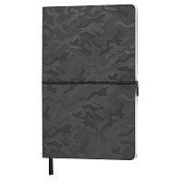Бизнес-блокнот Tabby Franky, гибкая обложка, в клетку, черный, Черный, -, 21226 35